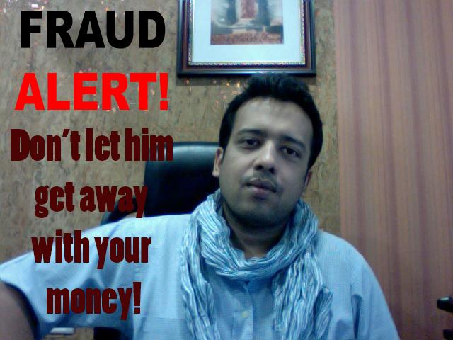 Ankit Agarwal - managing director of Ashford Laboratories Pvt. Ltd. is scammer and liar. Beware!